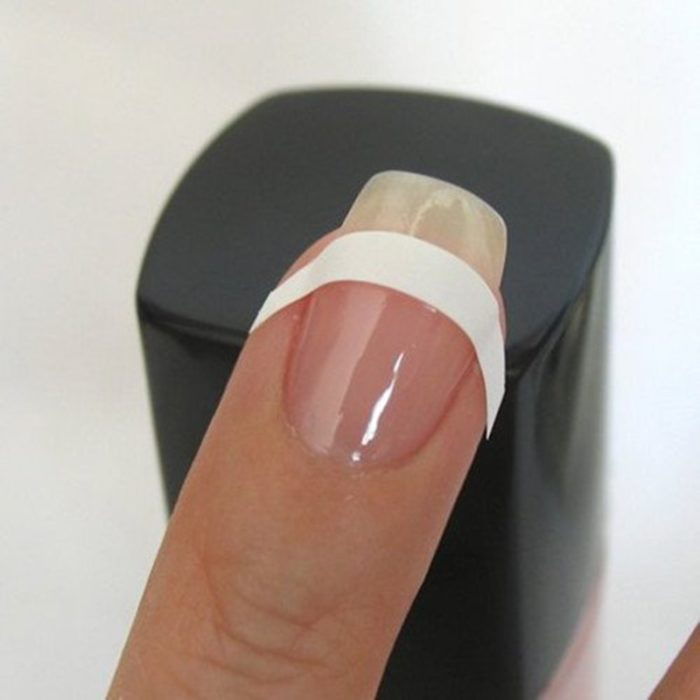 French Nails Sticker Guide 240Pcs