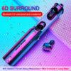 Bass Earphones 6D Surround Earbuds