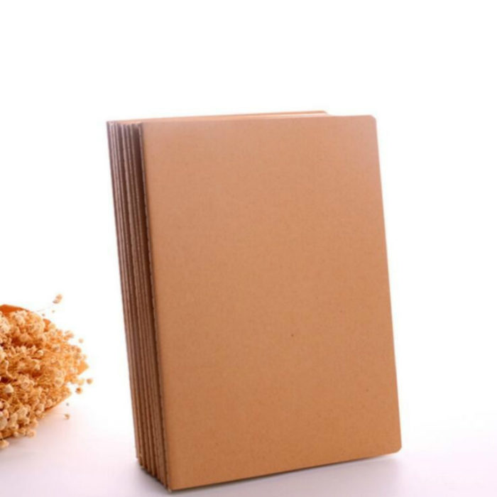Planner Notebook Cowhide Paper Cover