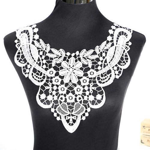 Lace Fabric Collar Decoration