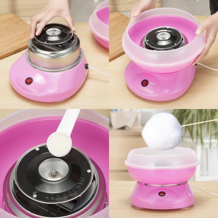 Candy Floss Machine Cotton Maker