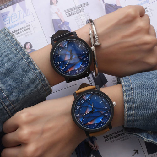 Big Watch Unisex Quartz Dial Watch