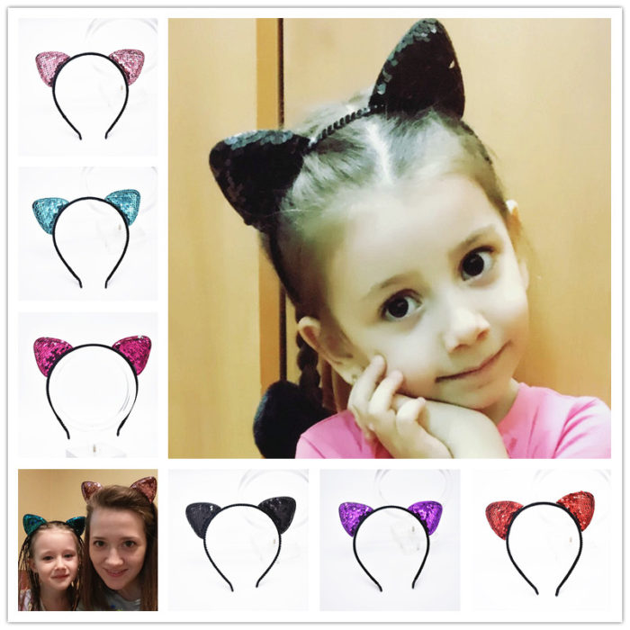 Cat Ears Fashionable HairbandCat Ears Fashionable Hairband