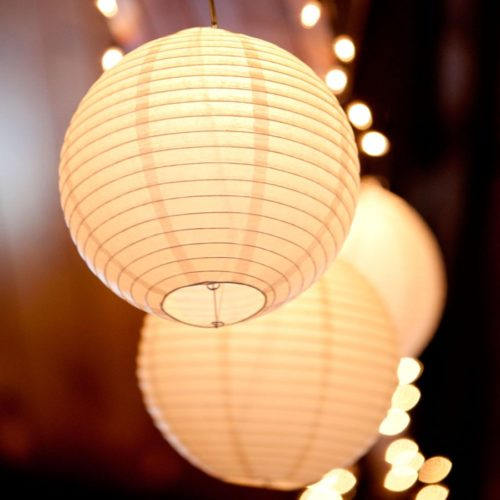 Paper Lanterns Party Decoration