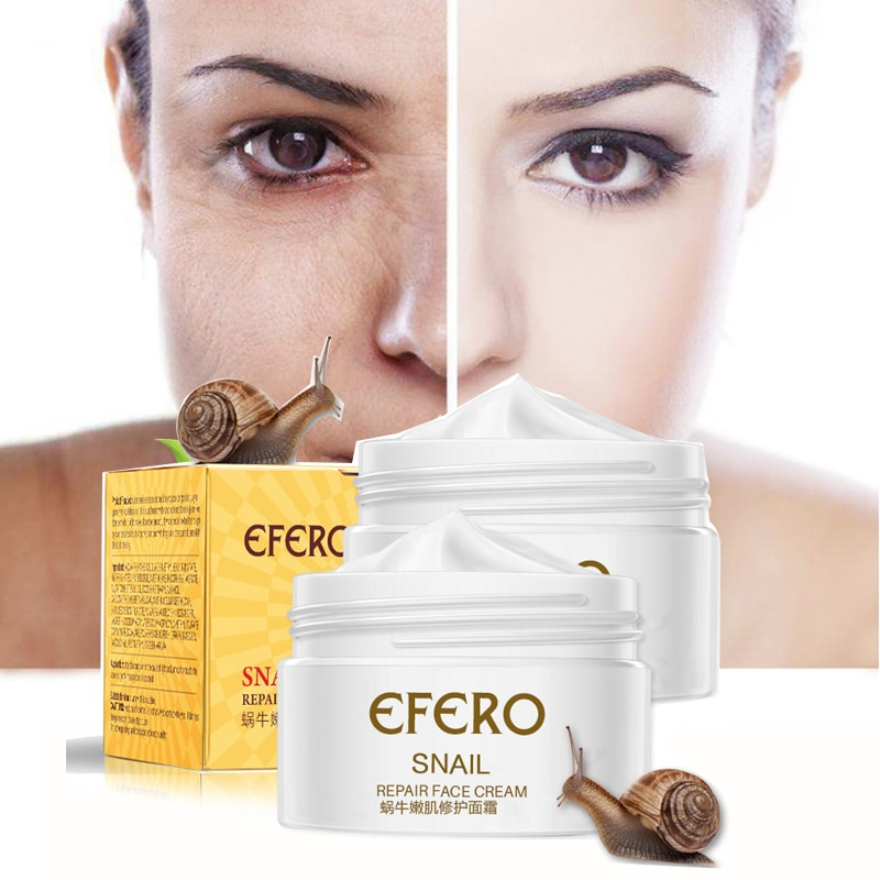 Image result for Snail Cream Anti-Aging Facial Care