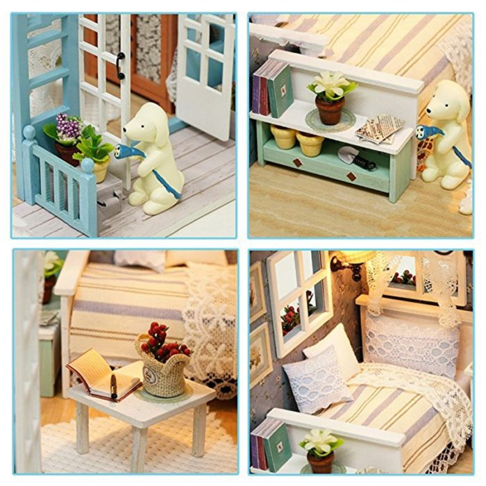 DIY Dollhouse Chic Wooden Furniture