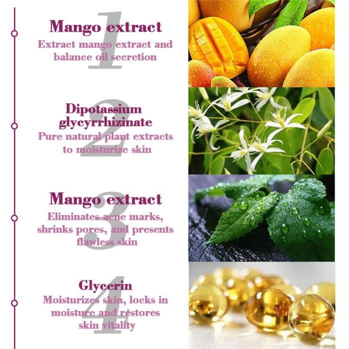 Mango Whitening Cream Acne Treatment