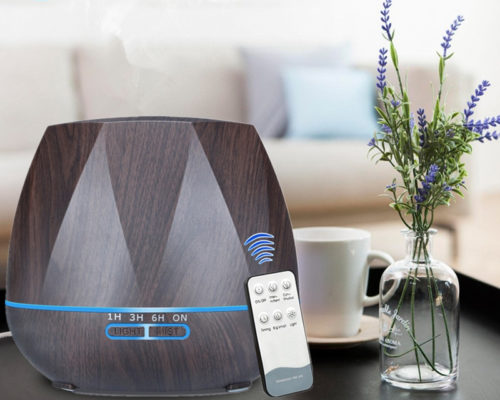 Steam Humidifier Remote Control Diffuser