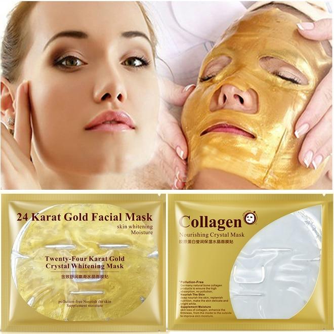 24k Gold Collagen Face Mask