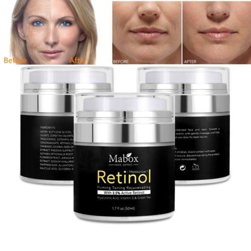 Retinol Face Moisturizer Cream