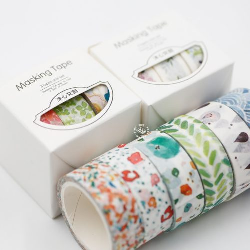 Scrapbook Stickers 3 Rolls Tape