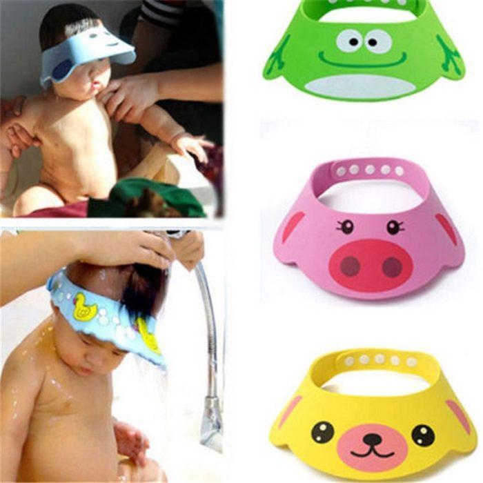 Cartoon Hat Baby Shower Cap