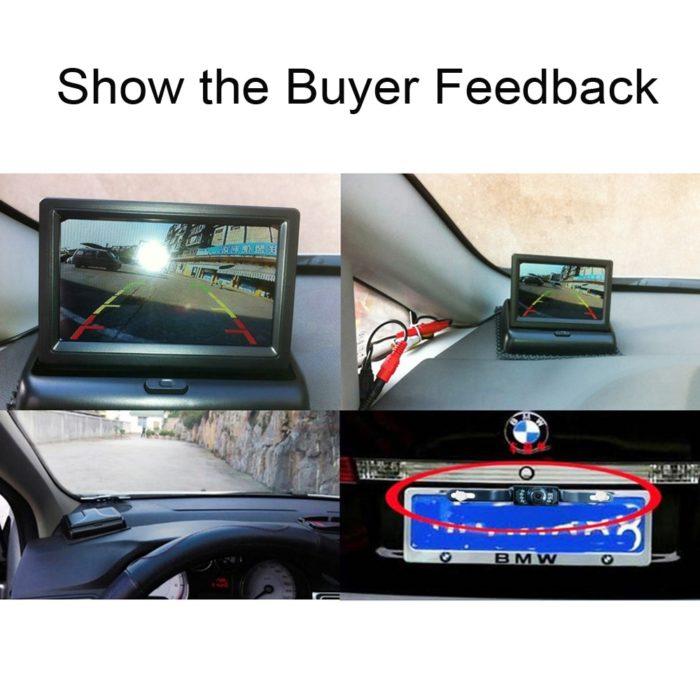 Car Reverse Camera Monitor System