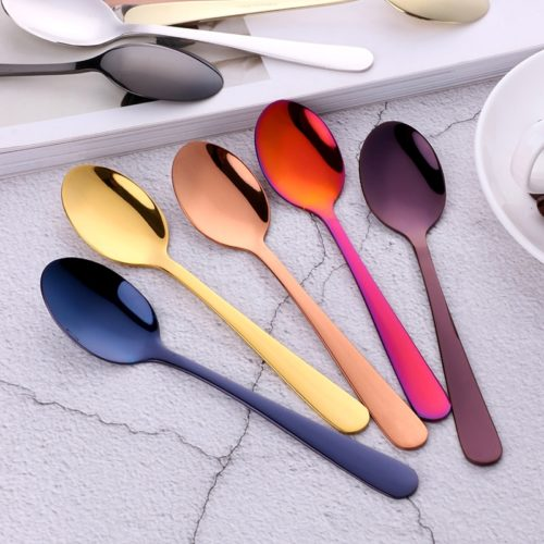 Teaspoon 10pcs Stainless Tableware