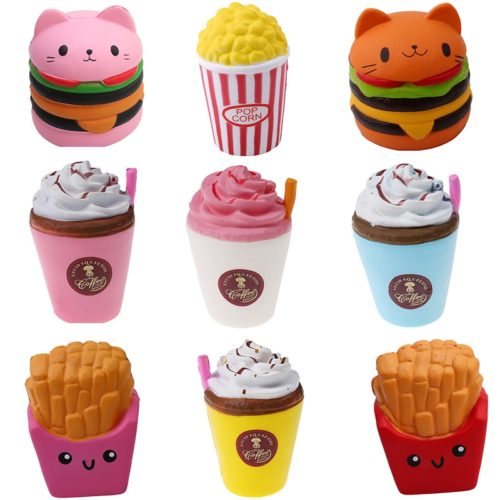 Food Squishies Stress Relief Toys