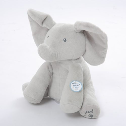 Elephant Toy Singing Stuffed Animal