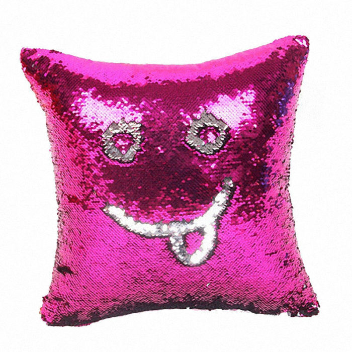 Pillow Cases Color Changing Sequins
