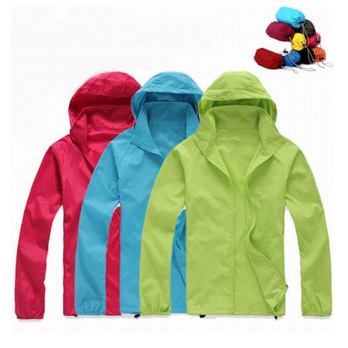 Lightweight Rain Jacket Waterproof Coat
