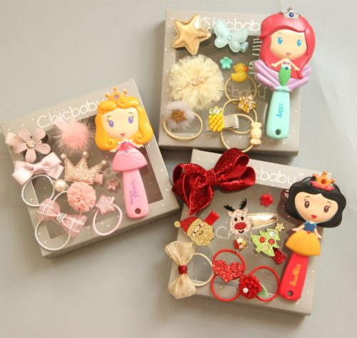 Hair Accessories for Girls Princess Set