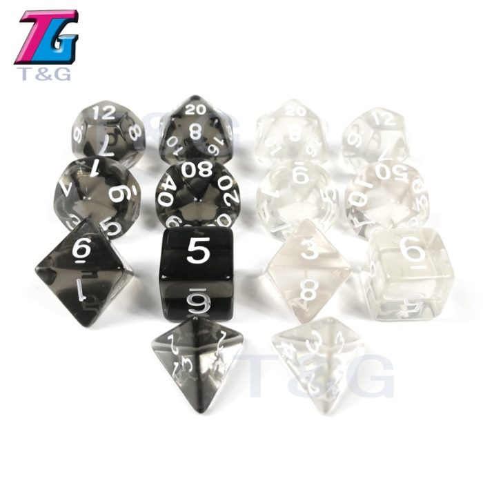 Dice 7pcs Board Games Accessory