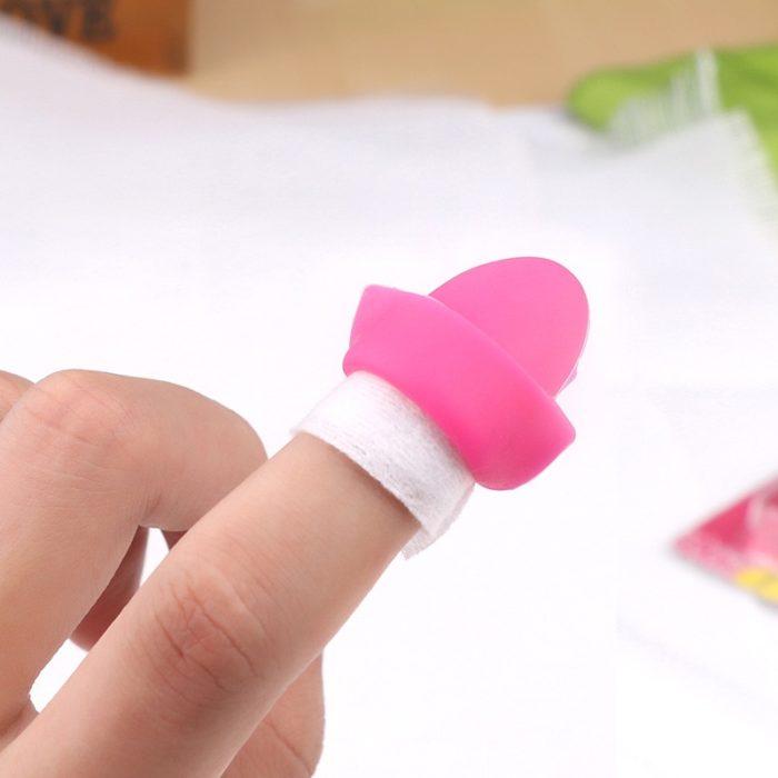 Nail Polish Remover Silicone Wrap