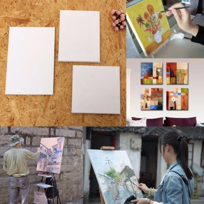 Canvas Wood Frame Painting Tool