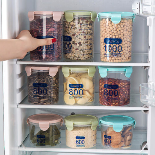 Storage Jars Transparent Container