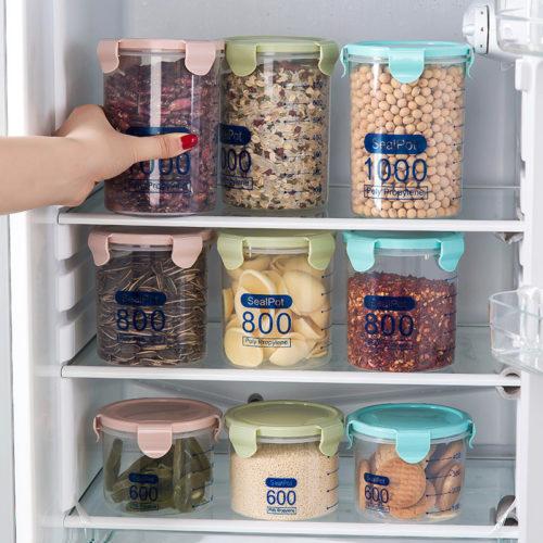 Storage Jars Transparent Container