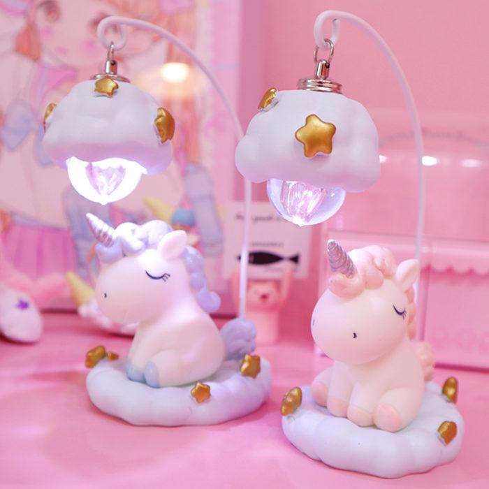 Unicorn Lamp LED Night Light