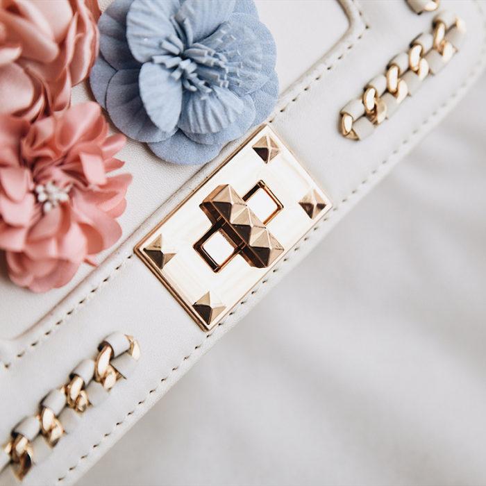 Leather Sling Bag Fashion Chain Purse