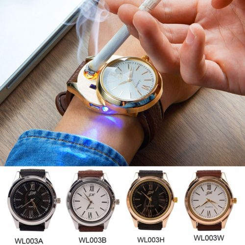 Lighter Watch USB Electronic Wristwatch