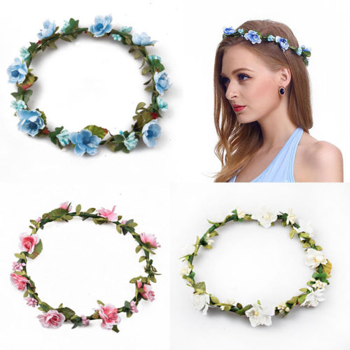 Flower Crown Fashionable Headband
