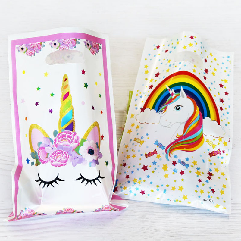 Loot Bags Unicorn Party Supply Set Of