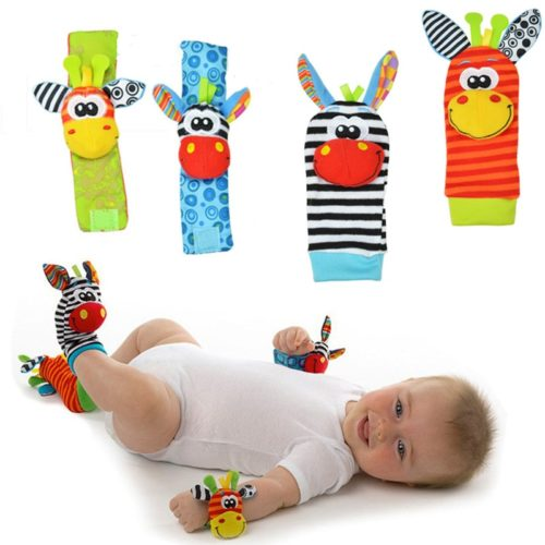 Infant Toys Wrists & Socks Rattle
