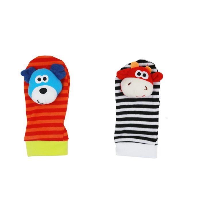 Infant Toys Wrists & Socks Rattle