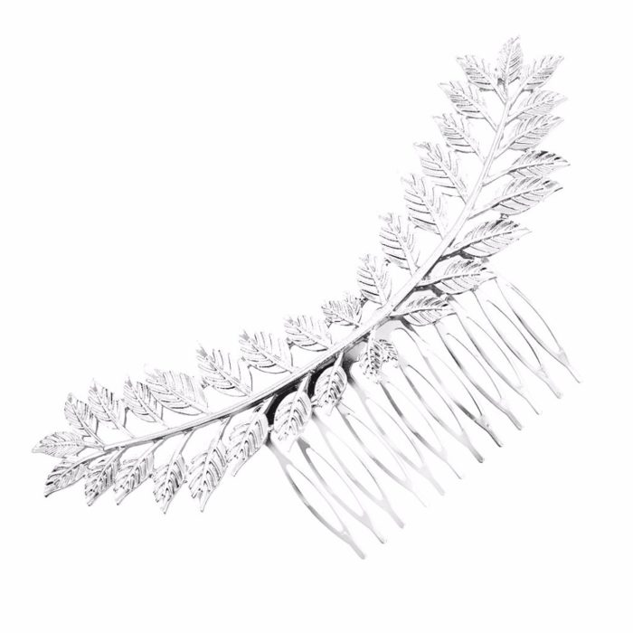 Hair Jewelry Metal Leaf Accessory