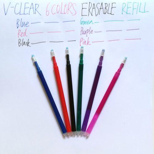 Friction Pen Refill 6pcs Set