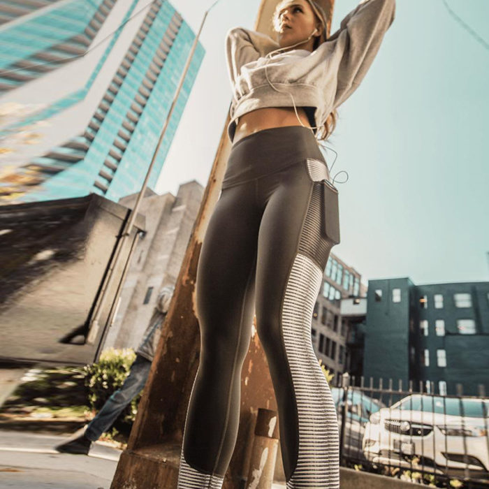 High Waisted Gym Leggings Activewear