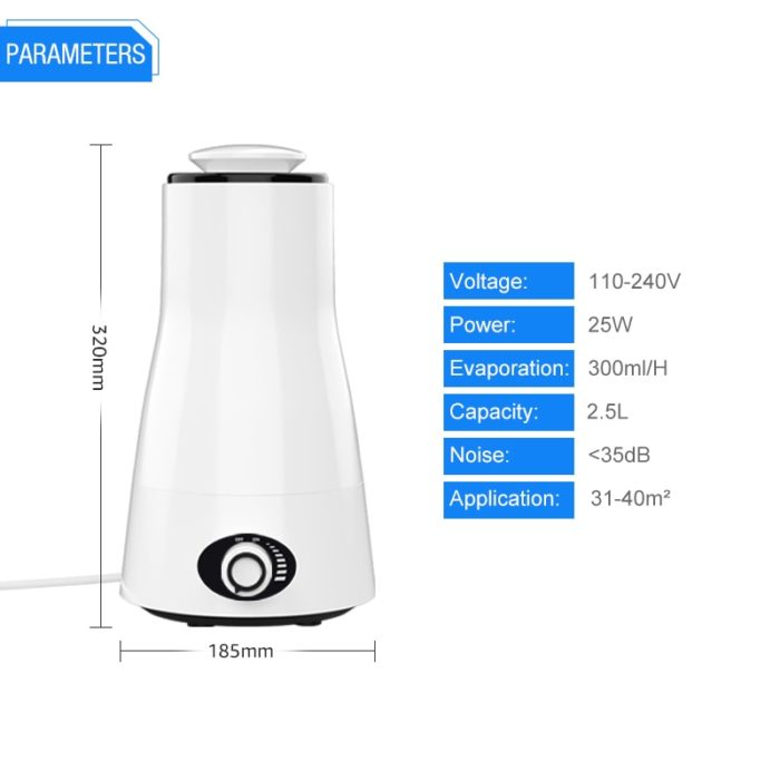 House Humidifier Portable Aerator