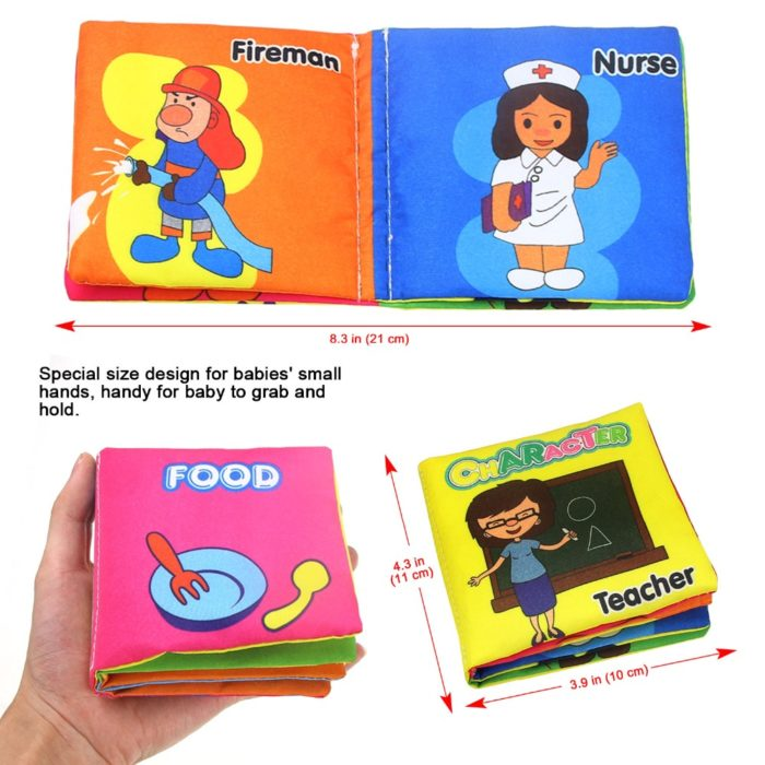 Educational Soft Baby Books