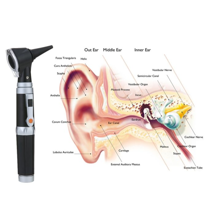Ear Scope Otoscope Set