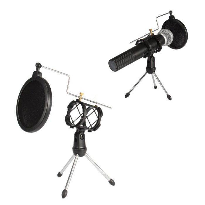 Microphone Stand Foldable Tripod