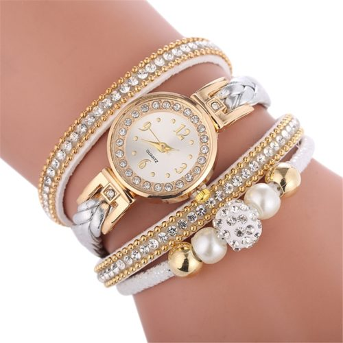 Ladies Gold Watches Fashion Bracelet