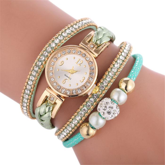 Ladies Gold Watches Fashion Bracelet