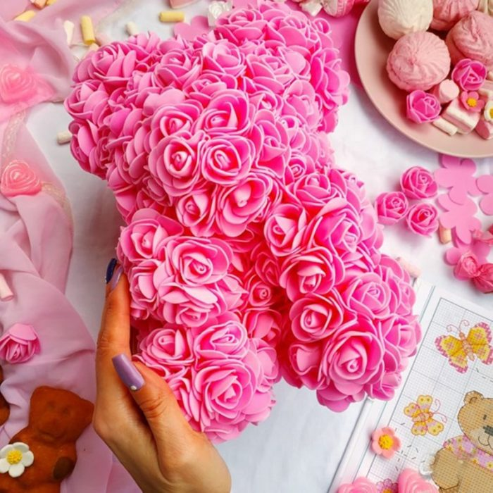 Rose Bear Homemade DIY Gift Kit