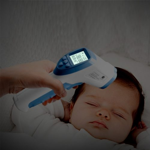Forehead Thermometer Baby Fever Detector