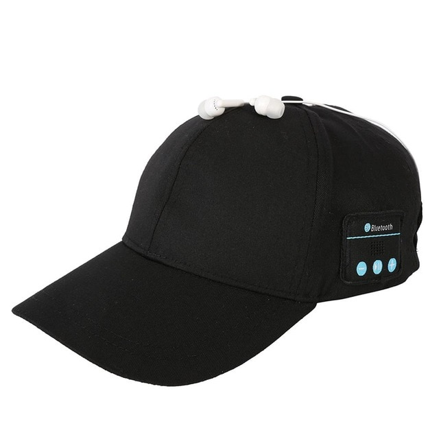 Bluetooth Baseball Cap With Music Earphone