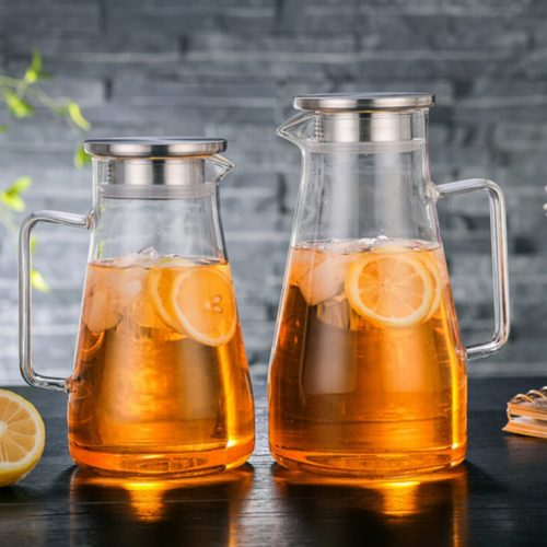 Tea Pots Glass Kettle Pitcher