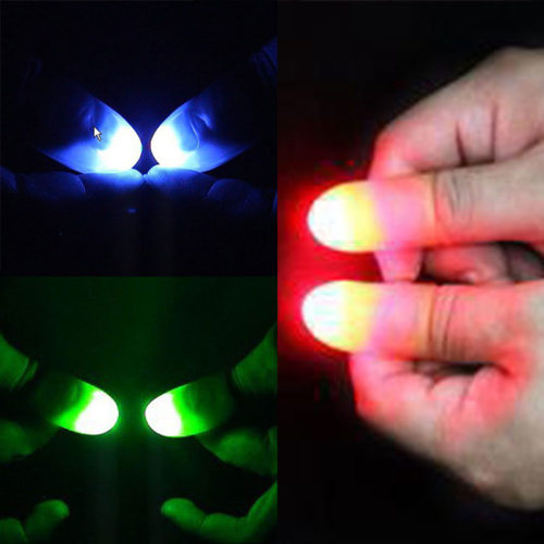 Magic Light Up Thumbs Trick