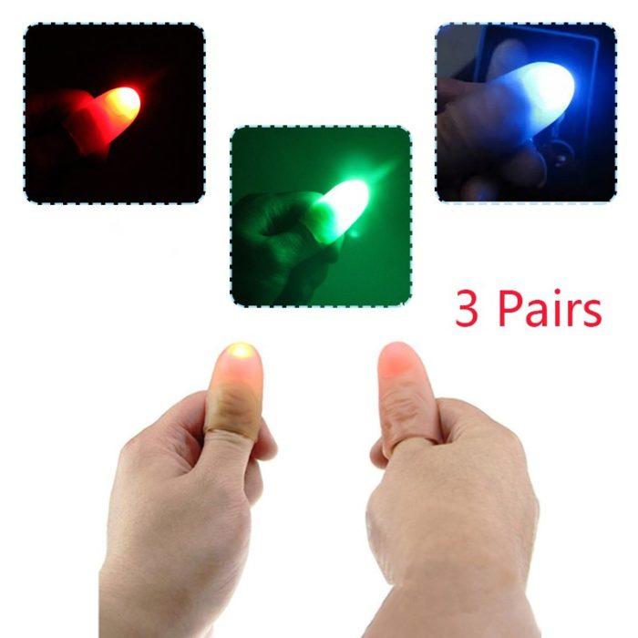 Magic Light Up Thumbs Trick